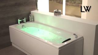 [Lisna Waters Encore Whirlpool Bath & Airspa] Video