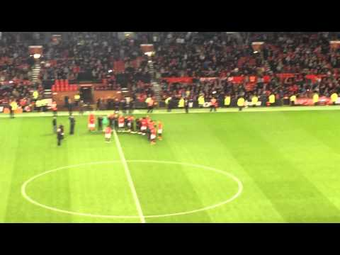 Ryan Giggs Speech and Farewell to Nemanja Vidic - 06/05/14 ManUnited last home game.