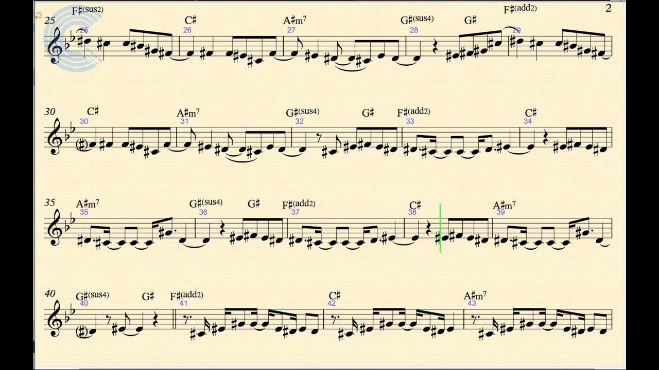 Clarinet payphone maroon 5 and wiz khalifa sheet music chords