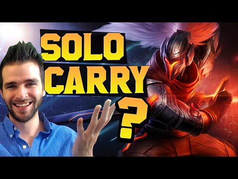 Solo Carry Yasuo? Welcome to S6! Skyyart LoL