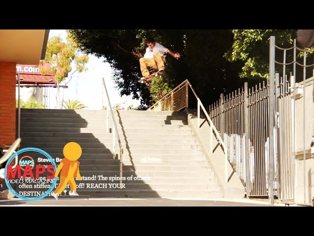MAPS VM - Skateboarding - Switch Frontside 360 16 Stairs, Joslin, Goosenectar and more