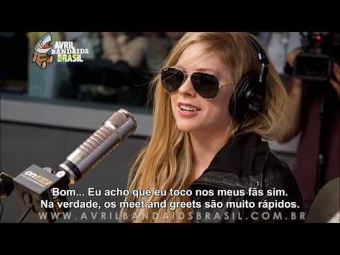 Avril Lavigne talks about Deryck Whibley and the
