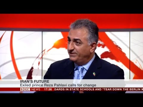 IRAN'S FUTURE - BBC Presenter Huw Edwards Interviews Prince Reza Pahlavi (2014)