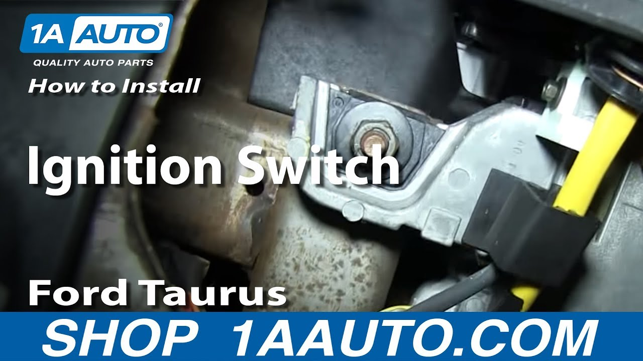 ford windstar wiring schematic how to install replace ignition switch 1996 06    ford    taurus  how to install replace ignition switch 1996 06    ford    taurus