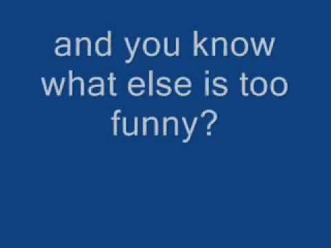 Lyrics to canadian idiot