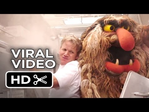 Muppets Most Wanted Viral Video - Food Fight! (2014) - Tina Fey Movie HD