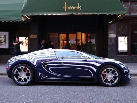 bugatti veyron l 39 or blanc maybach 62 s landaulet driving. Black Bedroom Furniture Sets. Home Design Ideas