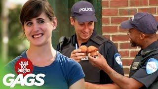 Skrytá kamera - Policajti zjedia muffiny
