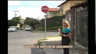 Cruzamento perigoso preocupa moradores em bairro de BH