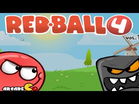 red ball 1 all levels