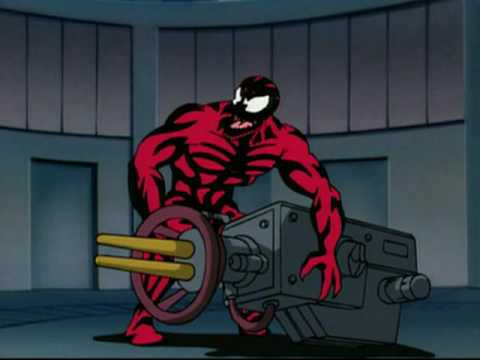 Spiderman vs Venom & Carnage