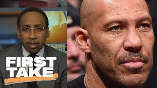 Stephen A. Smith has problem with LaVar Ball pulling LiAngelo out of UCLA   First Take   ESPN