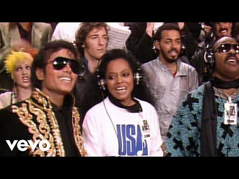 USA for Africa - We Are The World (w/M.Jackson) + Lyrics HQ