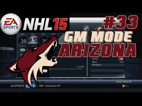 NHL 15: GM Mode Commentary - Arizona ep. 33