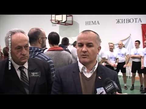 """30.01.2014. Rukometaši Partizana u akciji """"Nema života bez sporta"""""""