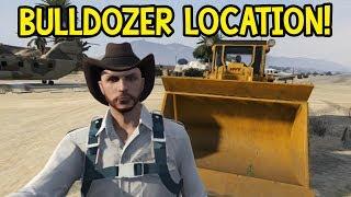 GTA Online Where To Find A Bulldozer (GTA V)