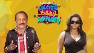 Namitha to enter politics   Lollu Nakkal Naiyandi - Mimicry Comedy   Vaiko Speech   Hot