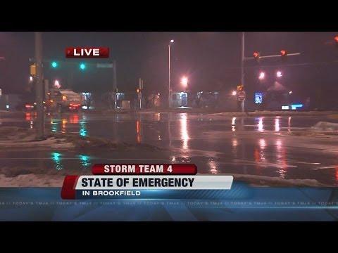 Gov. Walker declares state of emergency in advance of Thursday storm