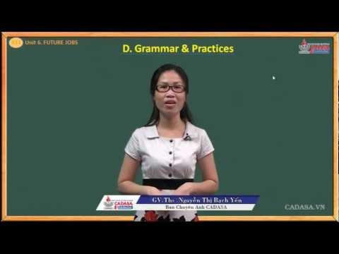 Tiếng anh lớp 12 - Unit 6 - Future Jobs - Grammar - Practices - Cadasa.vn