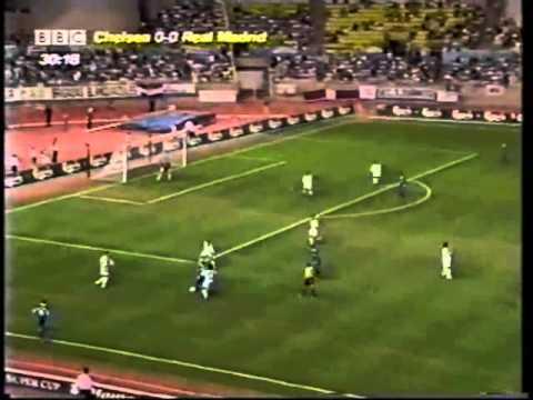 Real Madrid 0 - 1 Chelsea (UEFA Super Cup 1998/1999)