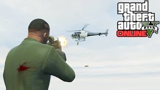 GTA 5: Secret Helicopter Weak Spot! How To Take Down