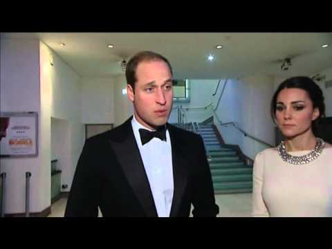 Prince William Comments on Mandela