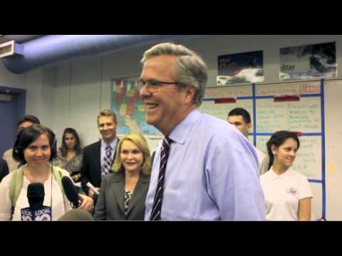 Former Gov Jeb Bush hints at running for President in 2016