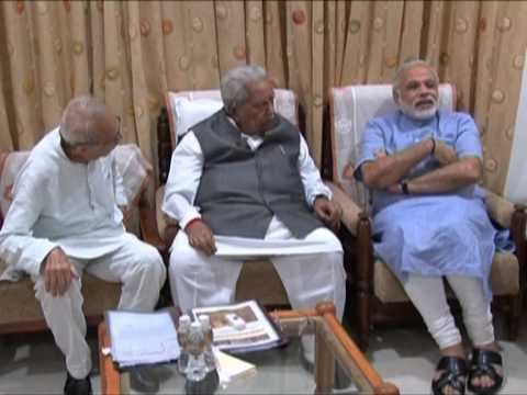 Narendra Modi attends Somnath Temple Trust Meeting