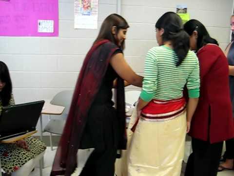 Sari Wrapping