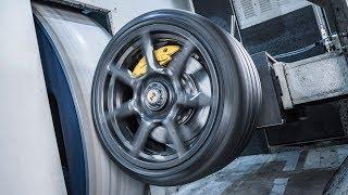 Porsche 911 Turbo Carbon Wheels - PRODUCTION. YouCar Car Reviews.