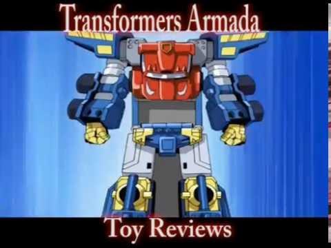 Transformers Armada toys: Optimus Prime