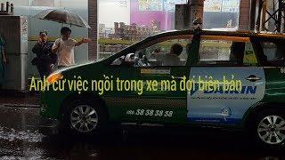 Lần đầu tiên ông Đoàn Ngọc Hải cho tài xế ngồi trong xe lập biên bản