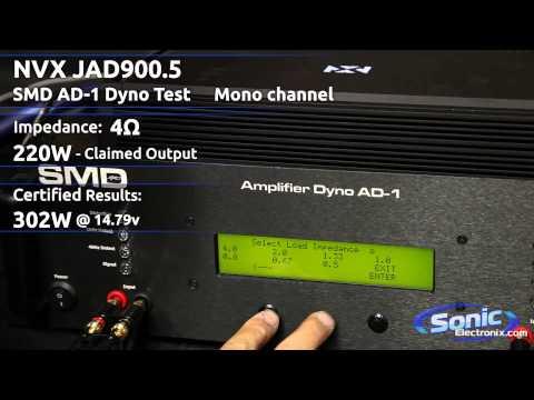 Sonic Electronix Certified Amp: NVX JAD900.5
