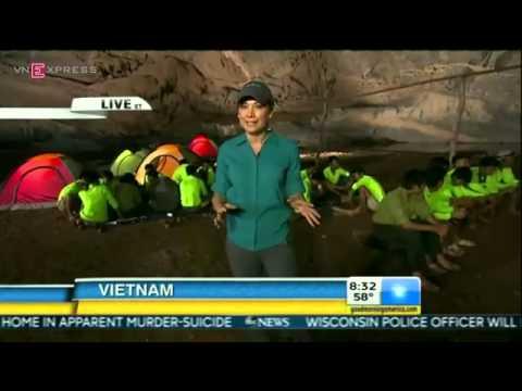 Hang Sơn Đoòng: Lớn nhất thế giới truyền hình trực tiếp trên kênh ABC của Mỹ lúc 19h43