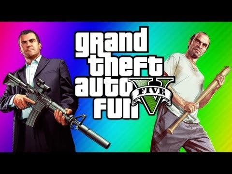 GTA 5 Funny Moments & Skits - Ultimate Workout, Jimmy Clone Glitch, Yoga, Torture Fun, Chop,