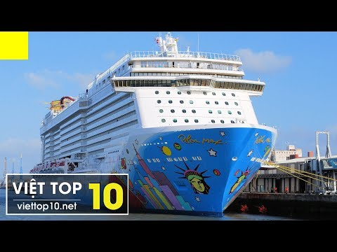 Top 10 Siêu Tàu Du Lịch Lớn Nhất Thế Giới