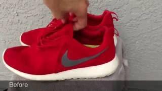 Jason Markk The Best Shoe Cleaner- Test On Roshe And Free