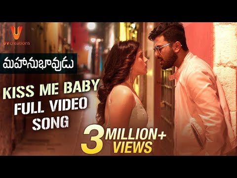 Mahanubhavudu-Telugu-Movie-Kiss-Me-Baby-Full-Video-Song