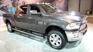 2014 RAM 2500 Limited Mega Cab Exterior And Interior