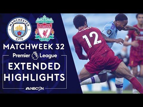Manchester City v. Liverpool   PREMIER LEAGUE HIGHLIGHTS   7/2/2020   NBC Sports