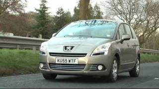 Fifth Gear: Web TV - Peugeot 5008 Road Test