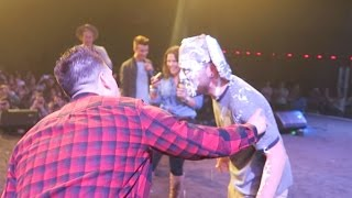 CRAZY PIE TO THE FACE PRANK!!!