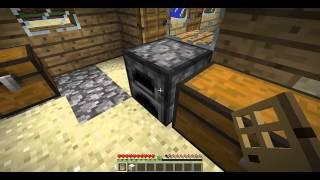 Como Hacer Una Puerta , Antorcha Y Vidrio En Minecraft
