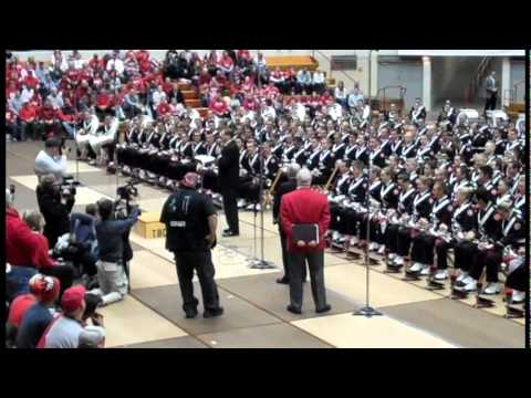 OSU Marching Band Skull Session November 19, 2011