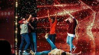 AMAZING Boyband Golden Buzzer - ALL Performences Britain's Got Talent