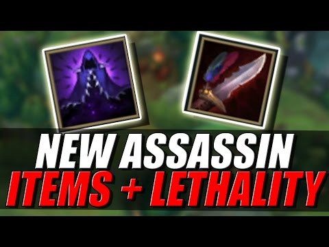 NEW ASSASSIN ITEMS + LETHALITY STAT | Assassin Update - League of Legends