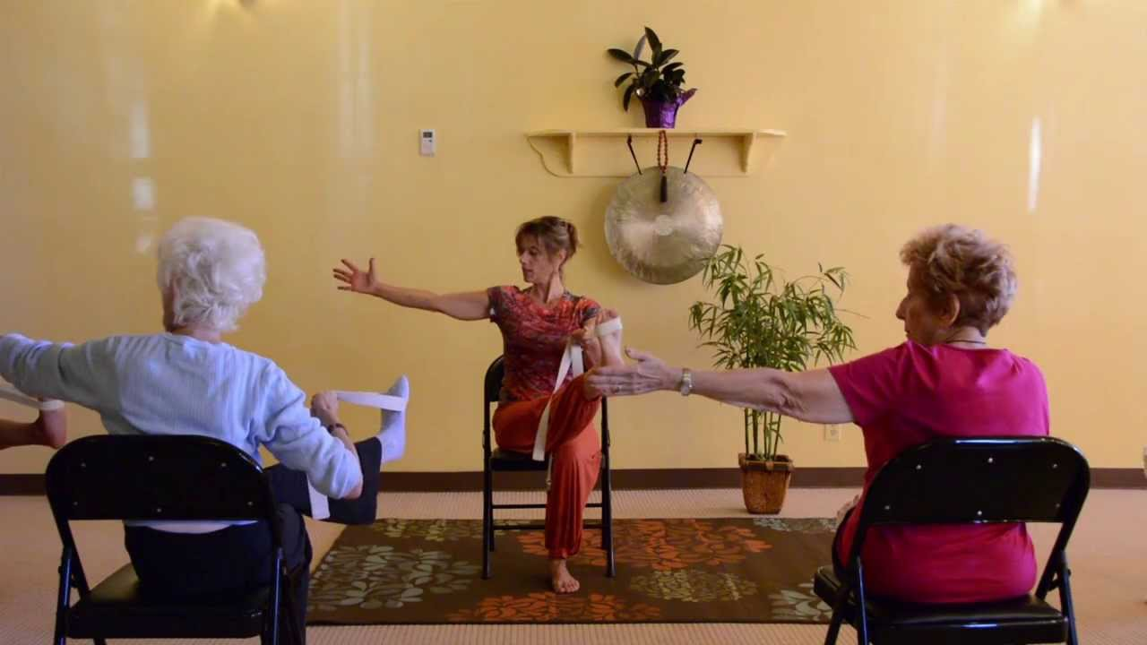 Actively Aging with Energizing Chair Yoga Seniors