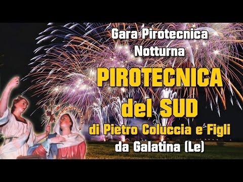 ARADEO (Lecce) - Maria Ss Annunziata 2017 - PIROTECNICA DEL SUD di Pietro COLUCCIA