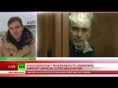 Khodorkovsky Freed: Putin signs decree pardoning ex-oil tycoon