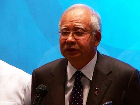 Malaysia PM: Flight 370